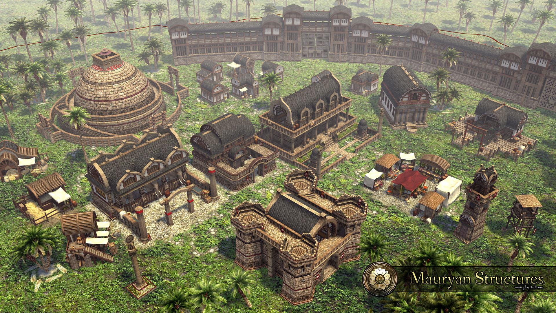 Mauryan Structures