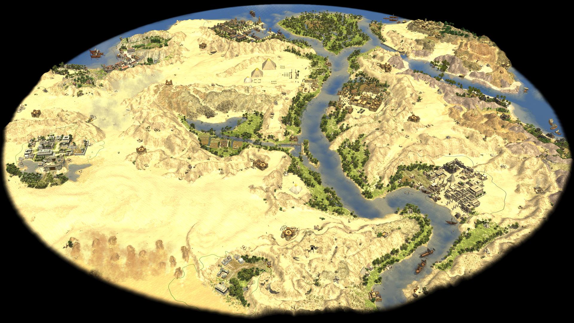 u201cEgyptu201d 6 players comes with prebuilt cities
