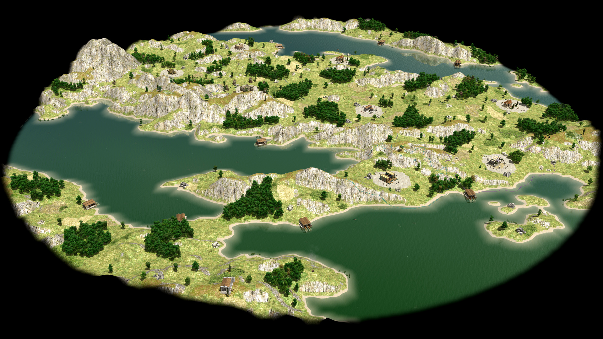 A u201cHellasu201d map generation showing a part