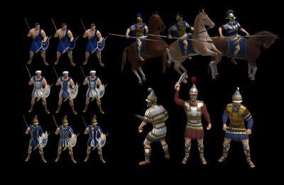 Macedonian unit textures